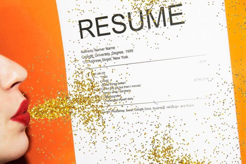 help me in my resume